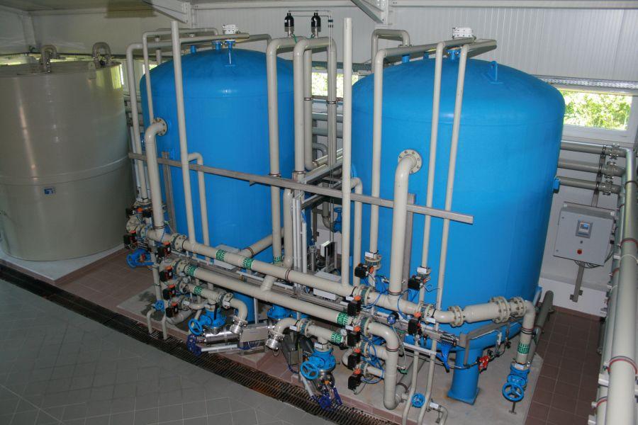 Trinkwasseraufbereitungsanlage Gänserndorf