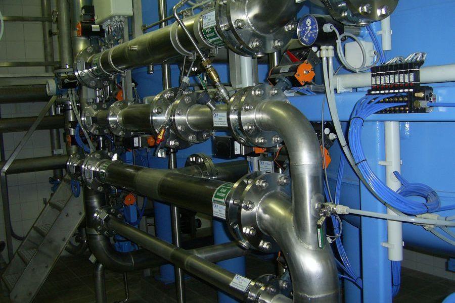 Trinkwasseraufbereitungsanlage Güttenbach