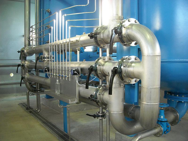 Trinkwasseraufbereitungsanlage Wöllersdorf-Steinabrückl