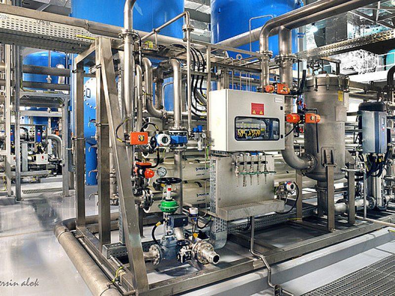 Kesselspeisezusatzwasser GuD Kraftwerk Besmaya