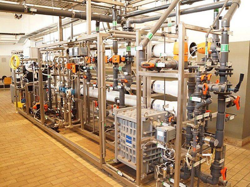 VE-Anlage mit UF-UO-EDI Kraftwerk Simmering