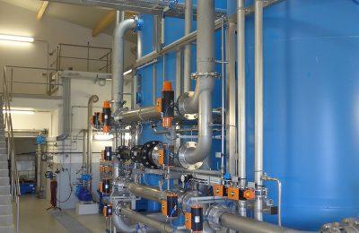 Eisen, Mangan, Ammonium und Arsen Aufbereitungssanlage Stegersbach